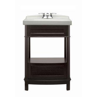 American Standard 9210.224.322 Portsmouth Washstand, Dark (Bathroom Vanity Washstand)