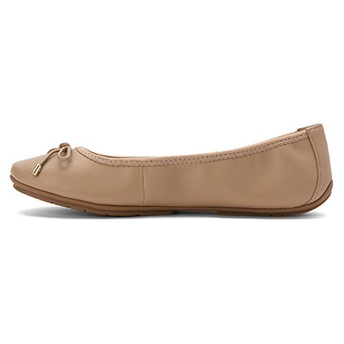 Anche Io, Donna, Halle Ballet Flat Driftwood Nappa
