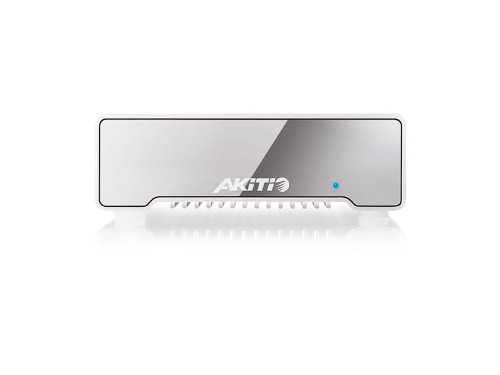 AKiTiO Neutrino Thunderbolt Edition 512GB SSD Portable Drive, Up to 10Gbps Data Transfer