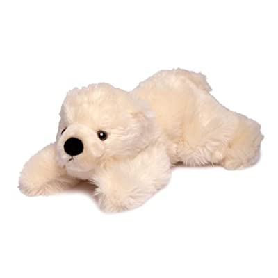 "SeaWorld Slushy Polar Bear Lying Down Plush 11"": Toys & Games"