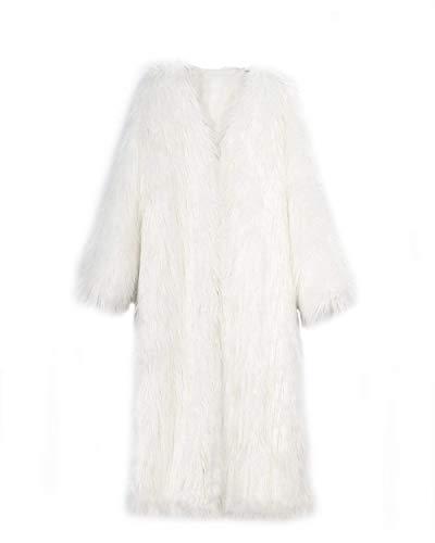 Huixin Warm Apparel Fashion Jacket Jacket Thick Coat Outwear Parka Long Men's Fur Coat Jacket Fur White Winter Winter Coat Coat ZxpqZrYw
