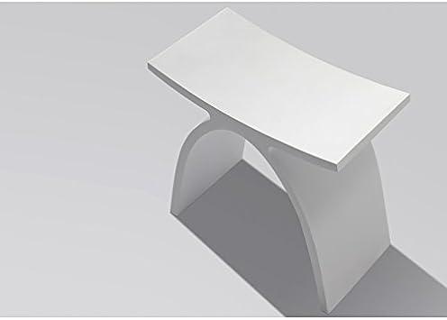 ambra Tabouret Blanc Osaka en Solid Surface