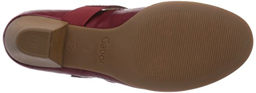 Gabor Shoes 05.457.27 Damen Knöchelriemchen Pumps Rot (55 cherry)