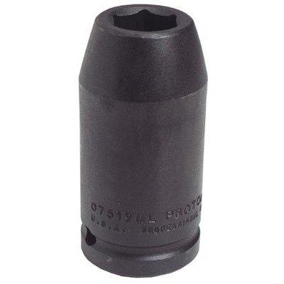 Stanley J07519ML Proto 6 Point 3/4-Inch Drive Impact Socket, 19mm Stanley Proto J07519ML 6 Point 3/4 Drive Impact Socket