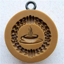 Teacup / Coffee Cup and Saucer Springerle Cookie Mold Anis-Paradies 1221