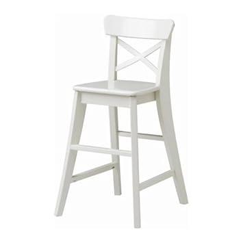 Ikea INGOLF   Junior Chair, White