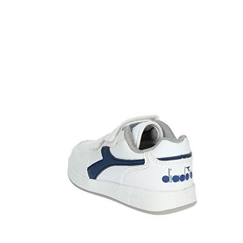 Bianco Da Bambini Unisex – Ginnastica Scarpe Diadora blu Ps 60024 Playground 7qCxzw7anP