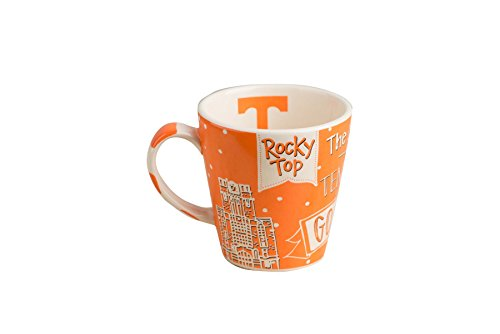 Glory Haus Tennessee Collegiate Mug, 12 oz, (Tennessee Coffee Mug)