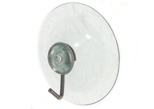 SUCTION SUCKER WINDOW HOOKS CLEAR WIRE HOOK 50MM ( pack of 1000 )