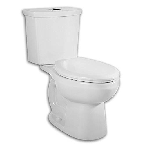American Standard 2886.216.020 H2Option Siphonic Dual Flush Right Height Elongated Two-Piece Toilet, White