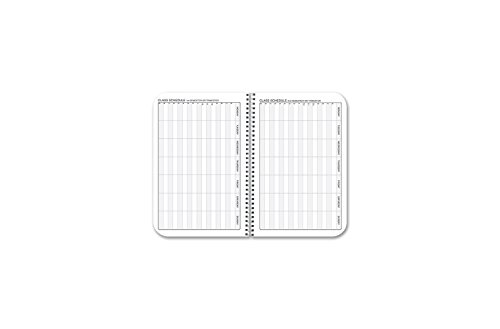 BookFactory 2018-2019 Weekly Academic Calendar (2 Pages per Week - 126 Pages - 3.5'' X 5.5'')/2018 Weekly Planner/Weekly Organizer [Wire-O Bound] (ACAD-152-M3CW-A(WEEKLY-CAL2018-19)) by BookFactory (Image #3)