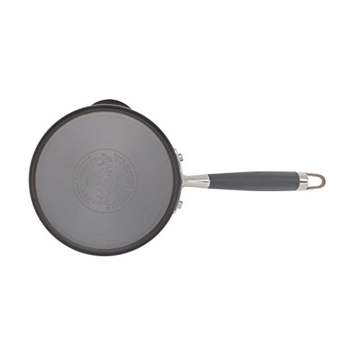 Anolon Advanced Hard-Anodized Nonstick Covered Straining Saucepan with Pour Spouts, 2 quart, Gray by Anolon (Image #4)