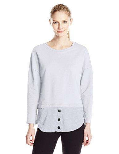 Neon Buddha Women's Amber Pullover, White, X-Large