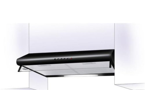 Akpo wk 7 p 3060 dunstabzugshaube schwarz: amazon.de: elektro großgeräte