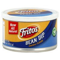 Dip Bean Fritos - Fritos, Bean Dip, Original Flavor, 9oz Canister (Pack of 3)