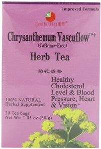 UPC 646322000115, Tea Chrysanthemum Vascuflow Herb - 20 bag, 4 pack