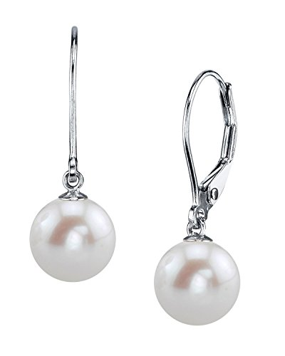 Freshwater Cultured Pearl Leverback Earrings product image