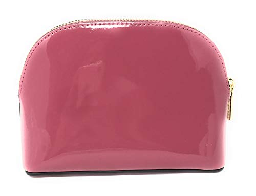e74fa657793b22 Michael Kors Jet Set Travel Patent Leather Cosmetic Travel Pouch (Tulip) by Michael  Kors