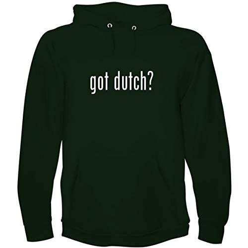 The Town Butler got Dutch? - Men's Hoodie Sweatshirt, Forest, Large (Tramontina 6-5 Qt Cast Iron Dutch Oven)