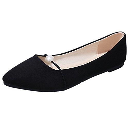 Zapatos Planos Puntiagudos Mocasines Femeninos De Tacón Bajo Puntiagudos Zapatos De Bota Con Tacón Zapatos De Mujer Con Sandalias De Paseo Black