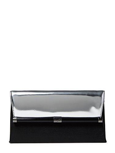 diane-von-furstenberg-440-envelope-mirror-silver-black-clutch-bag