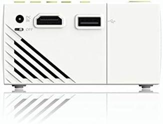プロジェクタ ホームシアターポータブルプロジェクター1080 1920 X 1080の解像度400〜600ルーメンのリモートコントロールプロジェクターについては、家庭やオフィス ーカー ホームシアター 天井投影 (Color : Black, Size : One size)
