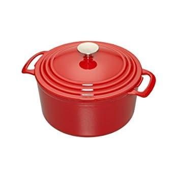 Amazon.com: Cooks Enameled Cast Iron 3.5 quart Dutch Oven