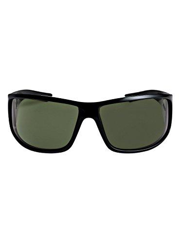 Vert EQYEY03083 pour Quiksilver Green AKDK soleil Polarised Shiny Lunettes Black Polarized Homme de wnFnH08