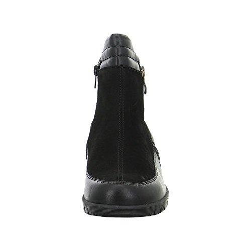 001 Waldläufer boots Kamela 303 negro mujer 675803 1EwCqxEg