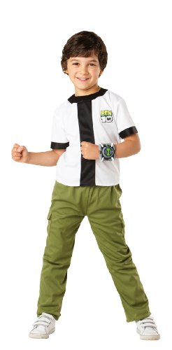 Rubies New Kids Ben 10 Boys Fancy Dress Costume Childrens Costume Party Outfit
