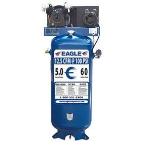 Eagle C4160V1 60-Gallon 150 PSI Max Electric Compressor
