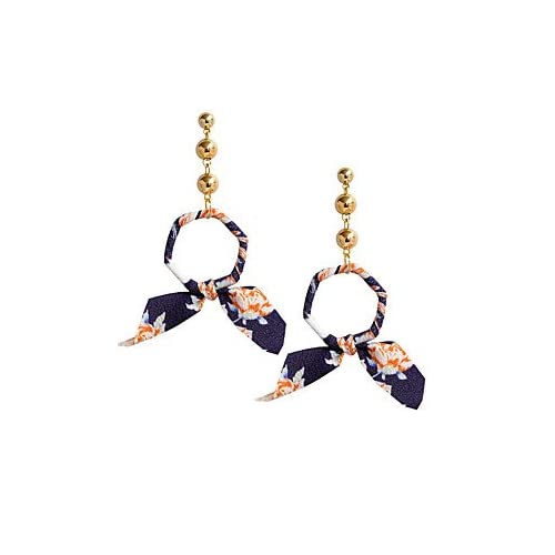 MJW&EH Femme Boucles d'oreille goujon Boucles d'oreille goutte , Métallique Basique Tissu Alliage Forme Géométrique Bijoux Soirée Cadeau Bijoux , one size