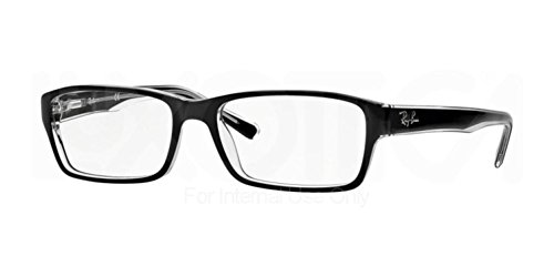 RAY BAN Authentic 5169 clear top black on transparent 2034 ,Designer - Ray Retailers Authorized Ban