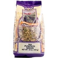 Now Foods, Real Food, Raw Pumpkin Seeds, Unsalted, 16 oz (454 g) by Now Foods