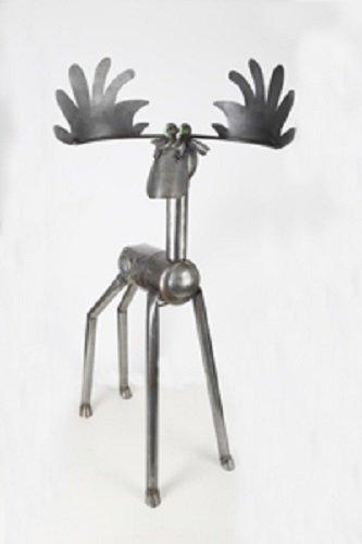 Yardbirds Junkyard Metal Animal Large 6' Moose (Yardbirds Junkyard Dogs And Cats)