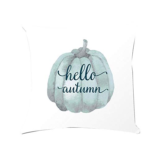 WFeieig_Halloween Throw Pillows for Couch Striped Velvet Cushion Covers for Chair, Pure White]()