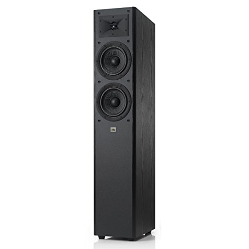 JBL Arena 180 Black 2-Way Dual 7-Inch Floorstanding Loudspeaker (Black) by JBL