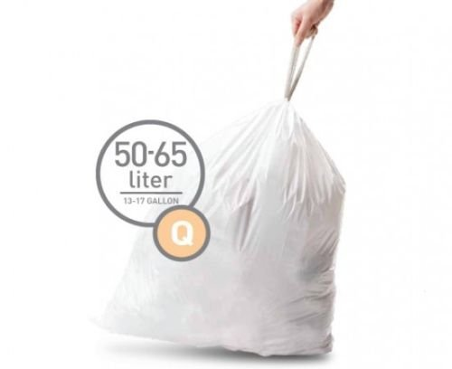 Simplehuman Bin Trash Can Bags Liners New 50-65l Litres Size