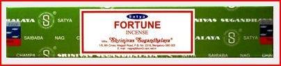 Sai Baba Satya 15 Gram Incense - Fortune - Satya Yoga Series Incense Shopping Results
