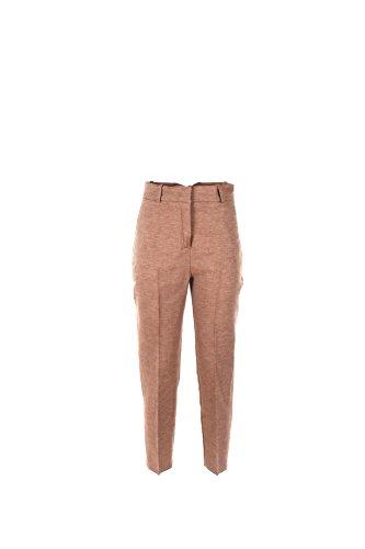 Pantalone Donna Kaos 40 Marrone Hpjco012 Primavera Estate 2017