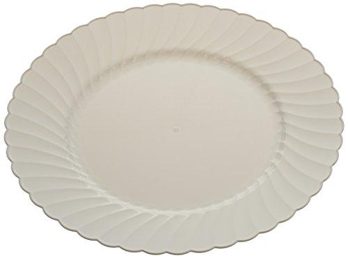 WNA 18 Count Classicware Plastic Fluted Plate, 10.25