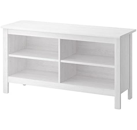 IKEA BRUSALI TV-Banco de blanco; (120 x 62 cm): Amazon.es: Hogar