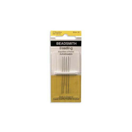 #10 English Beading Needles BeadSmith BN104