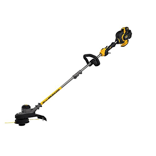 Find Discount DEWALT DCST970X1  FLEXVOLT 60V MAX String Trimmer, 3.0AH battery
