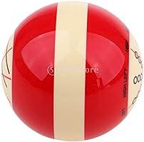 MagiDeal Harz Billard Pool Queue Training Ball Billardkugeln Standardma/ß 57,2 mm /Ø