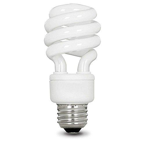 ent Bright White Spiral CFL Light Bulb (4-Pack) (Bright White Spiral Cfl Bulb)
