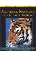 Accounting Information for Business Decisions: 2