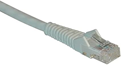 New 50ft Tripp Lite N001-050-BK CAT-5//5E Snagless Molded Patch Cable