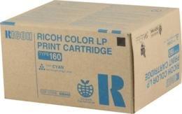Ricoh Aficio CL7300 Cyan Toner 10000 Yield Type 160 - Genuine Orginal OEM toner