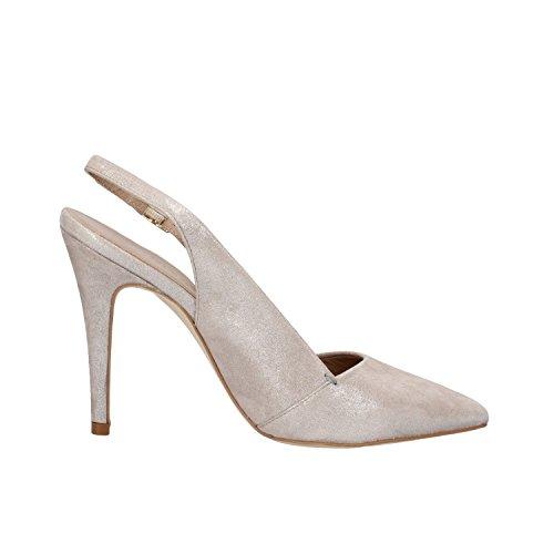 CARMENS - Sandalias de vestir de ante para mujer gris
